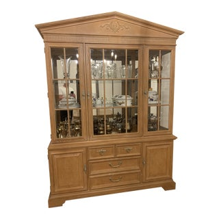 Stanely Furniture Continental Hutch For Sale