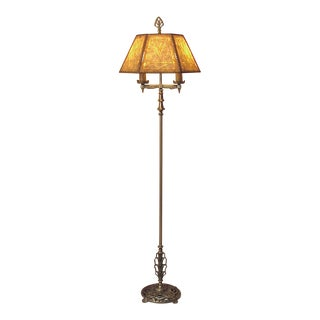 Hubley Arts & Crafts Mission Art Deco Floor Lamp Ca. 1920 For Sale