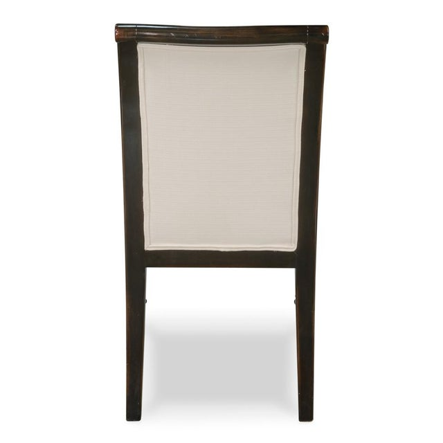 Sarreid Ltd Ebony Finished Dining Chairs- Set of 4 - Image 5 of 5