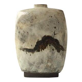 Kang Hyo Lee, Buncheong Flat Bottle, 2016 For Sale