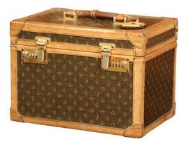 Image of Leather Luggage