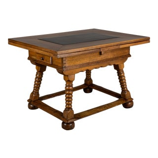 18th Century Swiss Walnut Farm Table For Sale