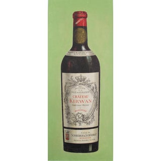 1900s French Vintage Wine Carton, Chateau Kirwan For Sale