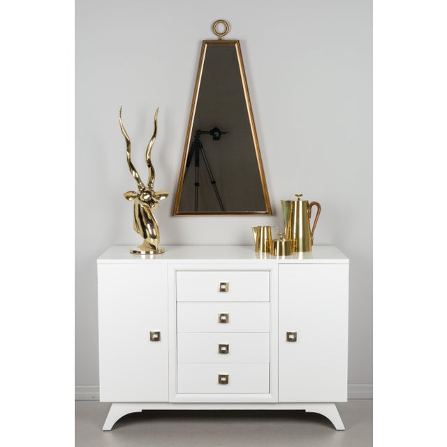 Mid Century Modern White Sideboard For Sale - Image 11 of 12