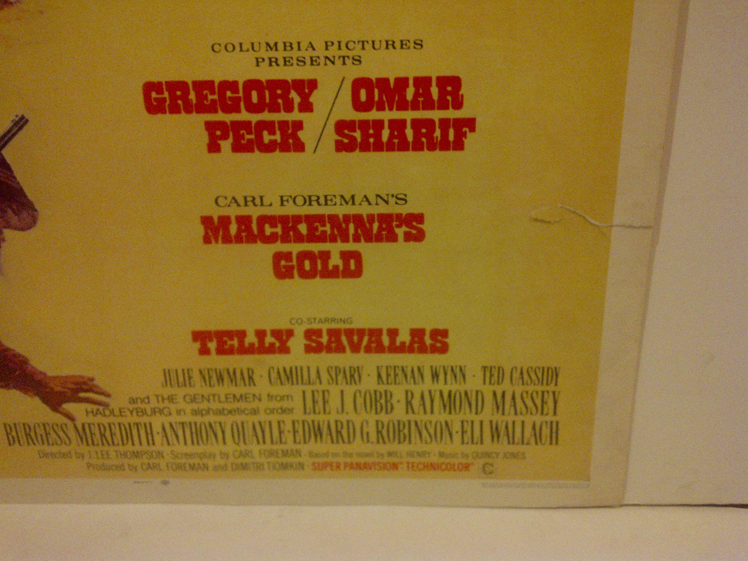 Mackennas gold vintage poster russia