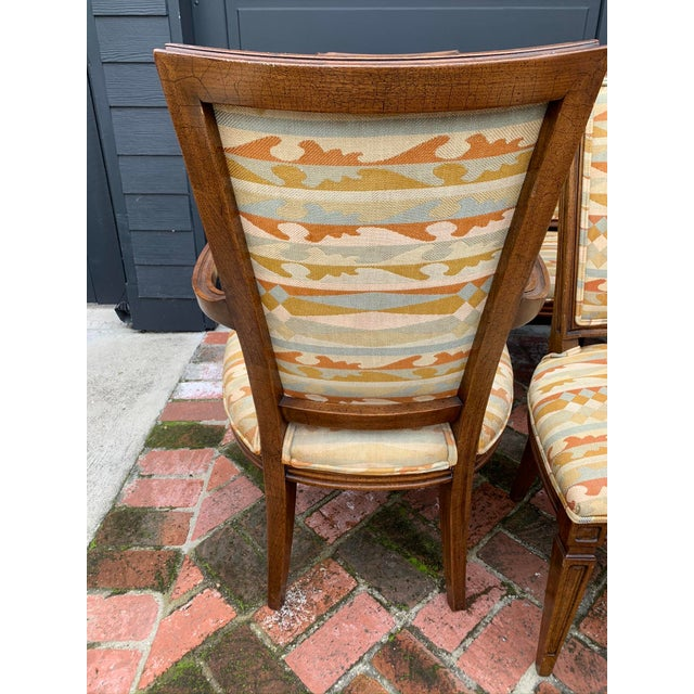 Classic Vintage Louis Dining Chairs - Set of 8 For Sale In Los Angeles - Image 6 of 11