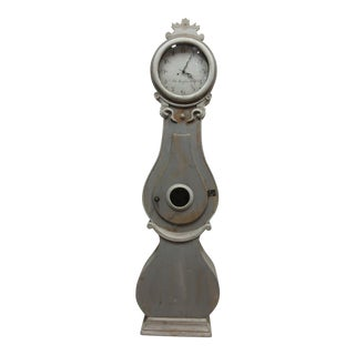 19th Century Contemporary Scandinavian Mora Gray Clock For Sale