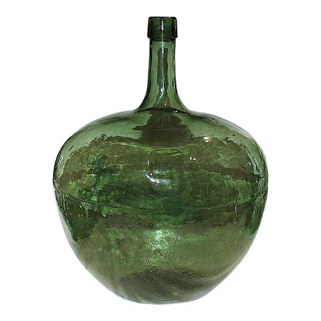 Demijohn Antique Blown Glass Bottle - Image 1 of 7