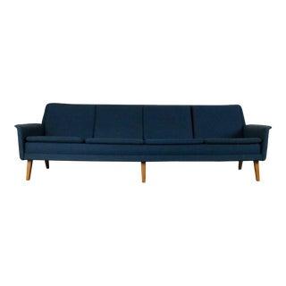 Folke Ohlsson & Fritz Hansen 4 Seat Sofa, Denmark For Sale