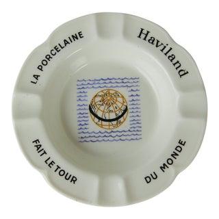 Haviland Du Monde Collection Ashtray by Limoges France For Sale