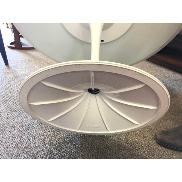 Mid-Century Modern Saarinen Tulip Dining Table for Knoll For Sale - Image 10 of 12