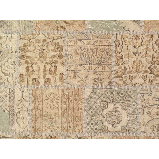 The vintage patchwork design will give your home a sophisticated style. Contemporary design. 100% Lamb's Wool. With a...