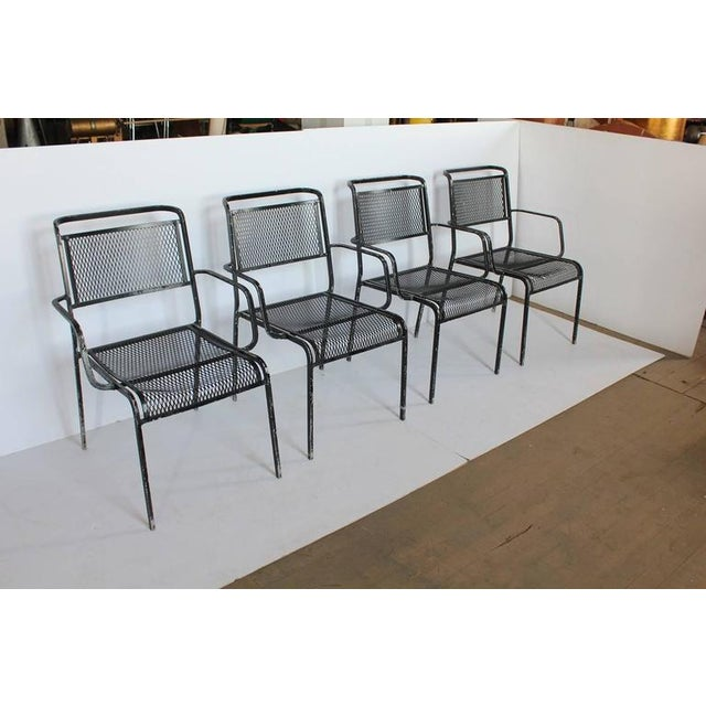 Mid-Century garden metal armchairs, more available. Listed price is for each chair.