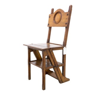 19th Century Vintage Metamorphic Chair For Sale