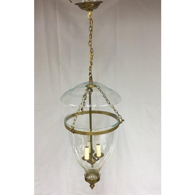 Metal Vaughan Adam Hall Globe Lantern - Brass For Sale - Image 7 of 7