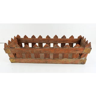 Rustic Shabby Wood Picket Fence Box Preview