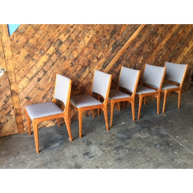 Danish Modern High-Back Chairs - Set of 8 - Image 5 of 9
