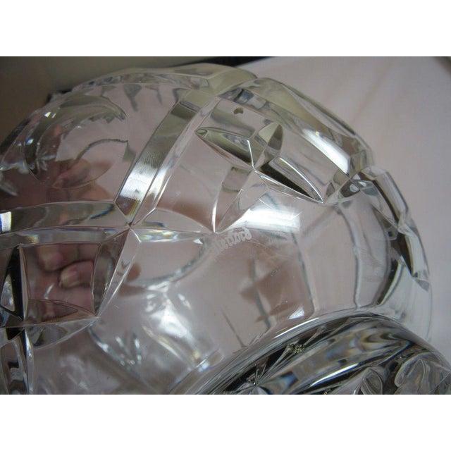 Clear Cut Crystal Rose Bowl Vase - Image 8 of 10