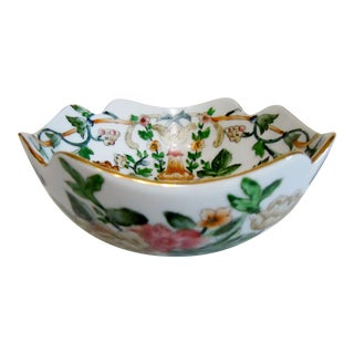 Hand Painted Chinese Square Bowl For Sale