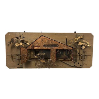 Curtis Jere Blacksmith Wall Sculpture For Sale