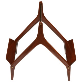 Modernist Magazine Rack Attributed to Ico Parisi, Italy, 1950s For Sale