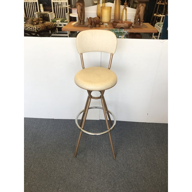 Terrific 1960S Vintage Cosco Swivel Stool Machost Co Dining Chair Design Ideas Machostcouk