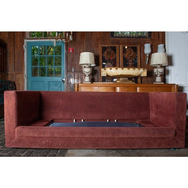 1990s Vintage Custom Made John Saladino Sofa For Sale - Image 20 of 34