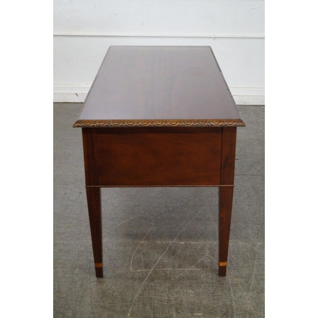 Baker Historic Charleston Collection Mahogany Chippendale Style Desk - Image 3 of 10