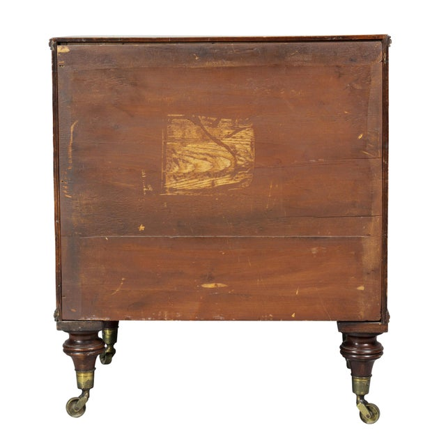 George III Mahogany Collectors Cabinet For Sale - Image 9 of 10