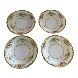 1980s Empress China Fruit and Nut Bowls - Set of 4 For Sale