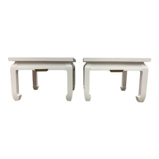 Vintage Chinese Side Tables - a Pair For Sale
