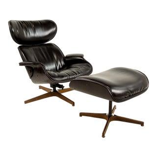 Plycraft Mister Lounge Chair & Ottoman