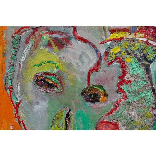 Paper Wyona Diskin, Elephant Painting For Sale - Image 7 of 12