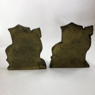 North African Mid-Century Brass Bookends - a Pair Preview