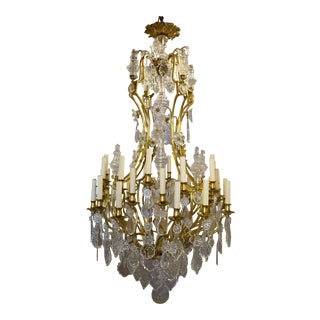 Baccarat chandelier For Sale