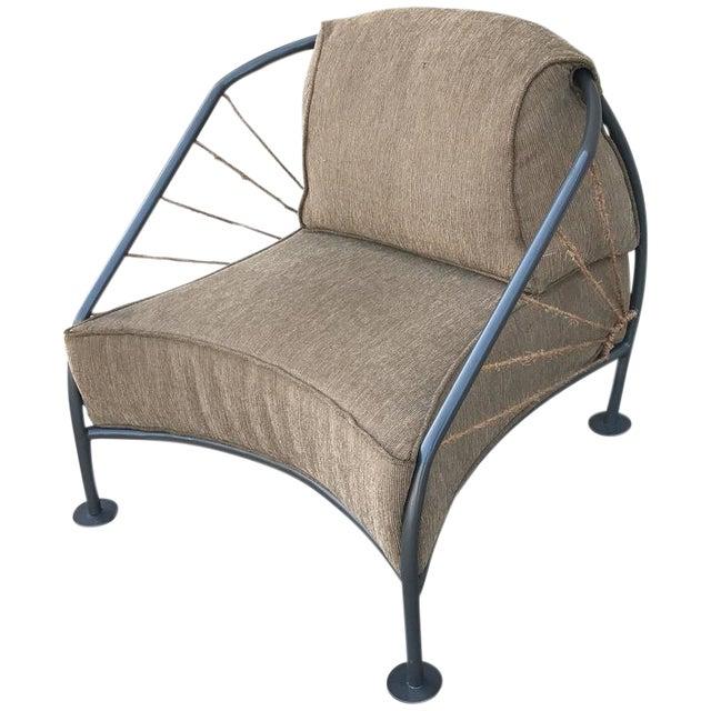 Steel & Metal Prototype Chair For Sale