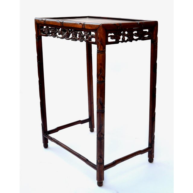Chinese Side Table Qing Dynasty 19th C For Sale In Los Angeles - Image 6 of 10