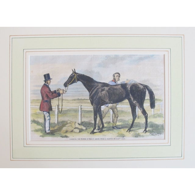 Original British Equestrian Print, Circa 1860 - Image 3 of 3