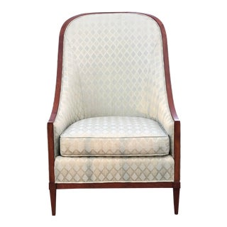 Late 20th Century Jacques Grange Collection for John Widdicomb Lounge Chair For Sale