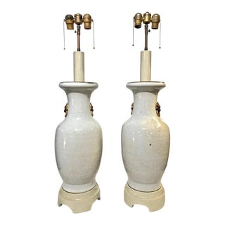 1950s William 'Billy' Haines Lamps - A Pair For Sale