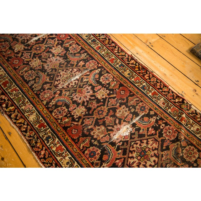 "Antique Distressed Rug Runner - 2'11"" X 12'8"" - Image 4 of 10"