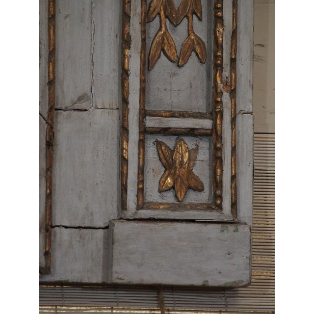 Mid 19th Century 19th Century French Painted Mirror For Sale - Image 5 of 7