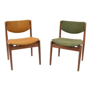 Finn Juhl France & Son Teak Model 197 Side Chairs - A Pair For Sale