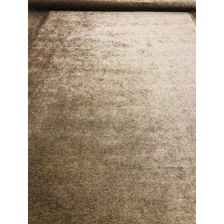 Barclay Butera for Kravet Seta Mushroom Designer Upholstery Fabric - 3 1/2 Yards For Sale