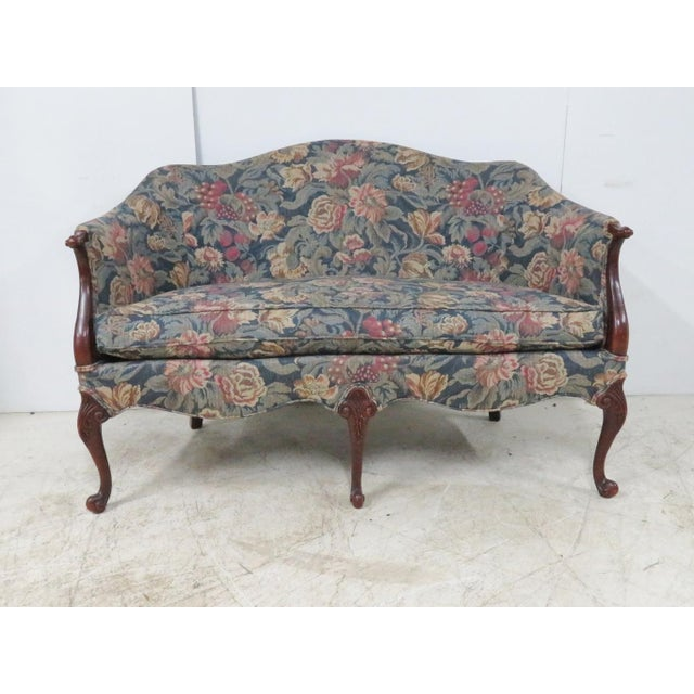 Louis XV Hickory Chair Company Louis XV Style Settee For Sale - Image 3 of 11