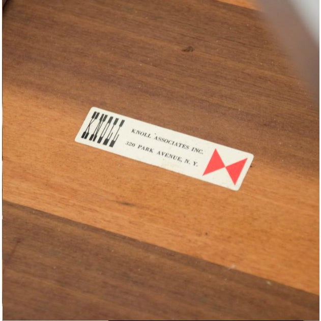 1970s 1970s Mid-Century Modern Florence Knoll Dining Table For Sale - Image 5 of 11