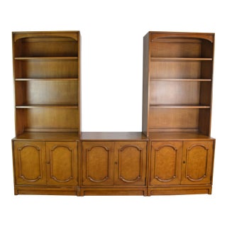 Italian Neoclassical Bookcase Cabinet For Sale
