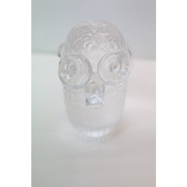 Cut Glass Ogre Paperweight For Sale - Image 4 of 5