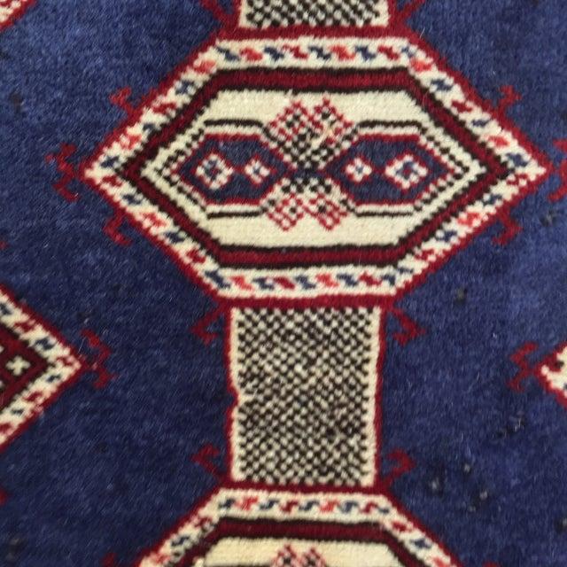"Turkaman Handmade Persian Rug - 2'1"" X 2'8"" - Image 6 of 9"
