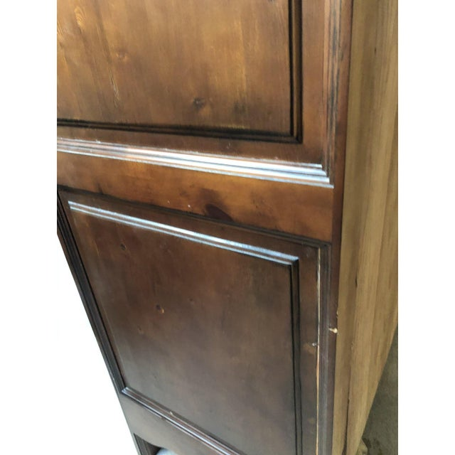 Brown 1990s Traditional Spanish Armoire For Sale - Image 8 of 13